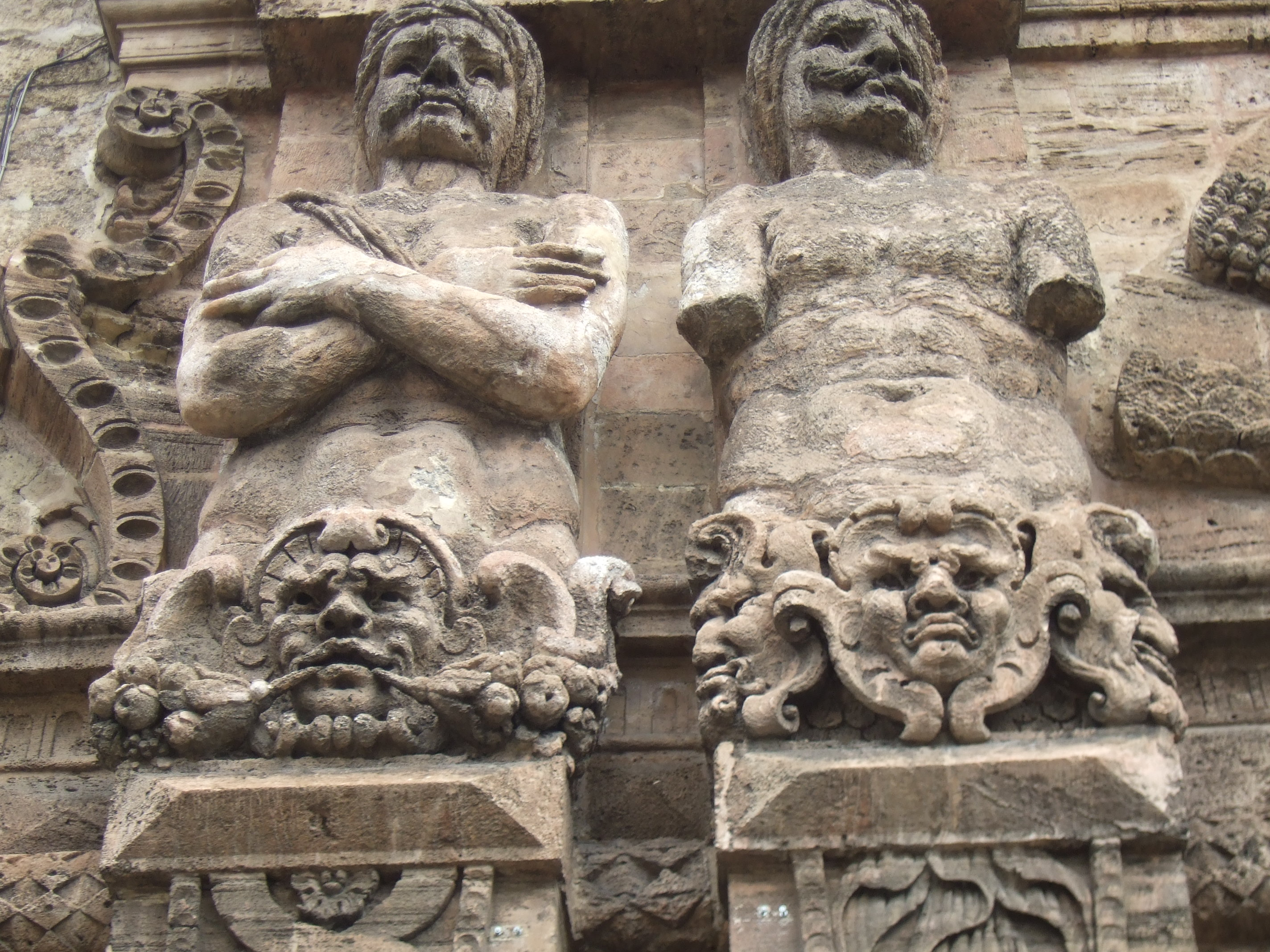 Moorish gateway, Palermo