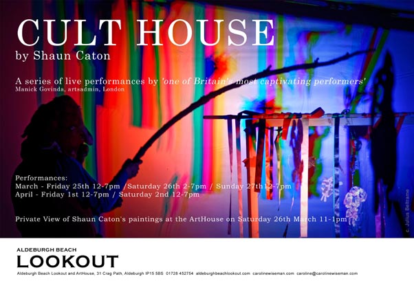 CULT HOUSE flyer